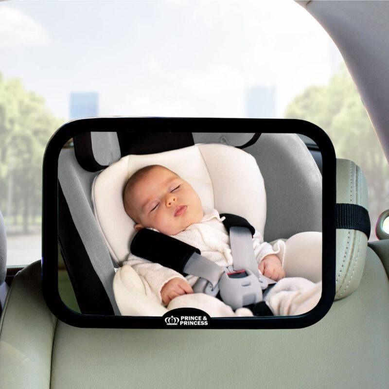 กระจกมองหลังติดเบาะรถยนต์ Prince&princess Back Seat Mirror.