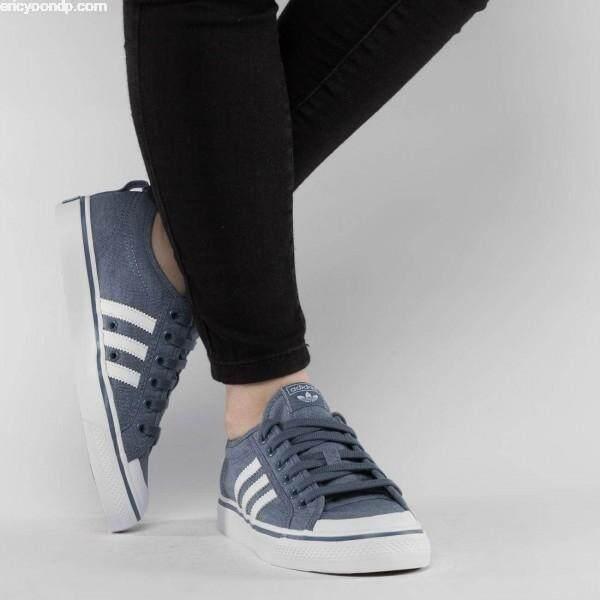 ลดสุดๆ ADIDAS รองเท้า แฟชั่น ออกกำลังกาย ผู้หญิง อาดิดาส NIZZA USA JEANS ++ลิขสิทธิ์แท้ 100% จาก ADIDAS พร้อมส่ง ส่งด่วน kerry++