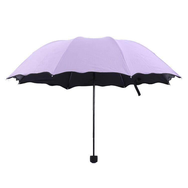 ร่มพับ สีพื้น ขนาดเล็กพกพาสะดวก กันฝน กัน Uv By 3b Shop.