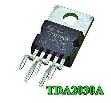 Tda2030a Tda2030 14 W Hi-Fi Audio Amplifier 5pcs 5ตัว.
