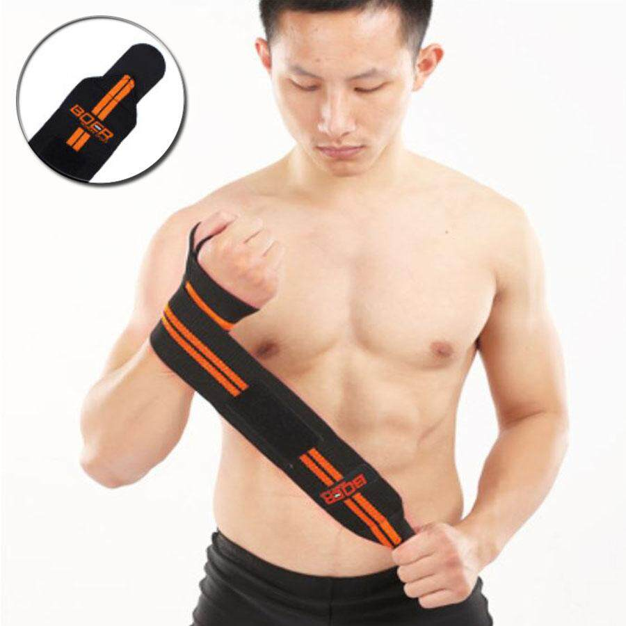 สายรัดข้อมือสำหรับผู้ชาย ฟิตเน็ต สำหรับรัดข้อมือยกน้ำหนัก By The Corner Store.