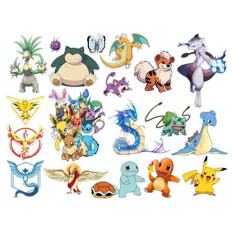 RAYQUAZA Pokemon Decal Removable WALL STICKER Home Decor Art Kids