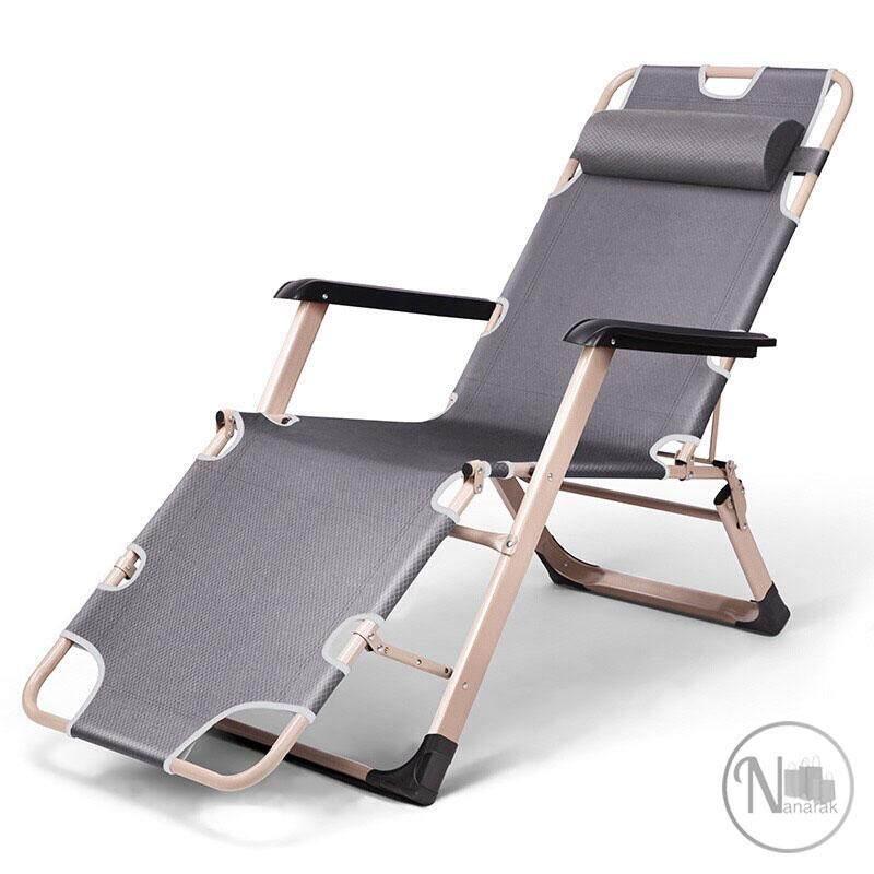 เก้าอี้ผ้าใบปรับเอนเป็นที่นอนได้ By Nanarak.