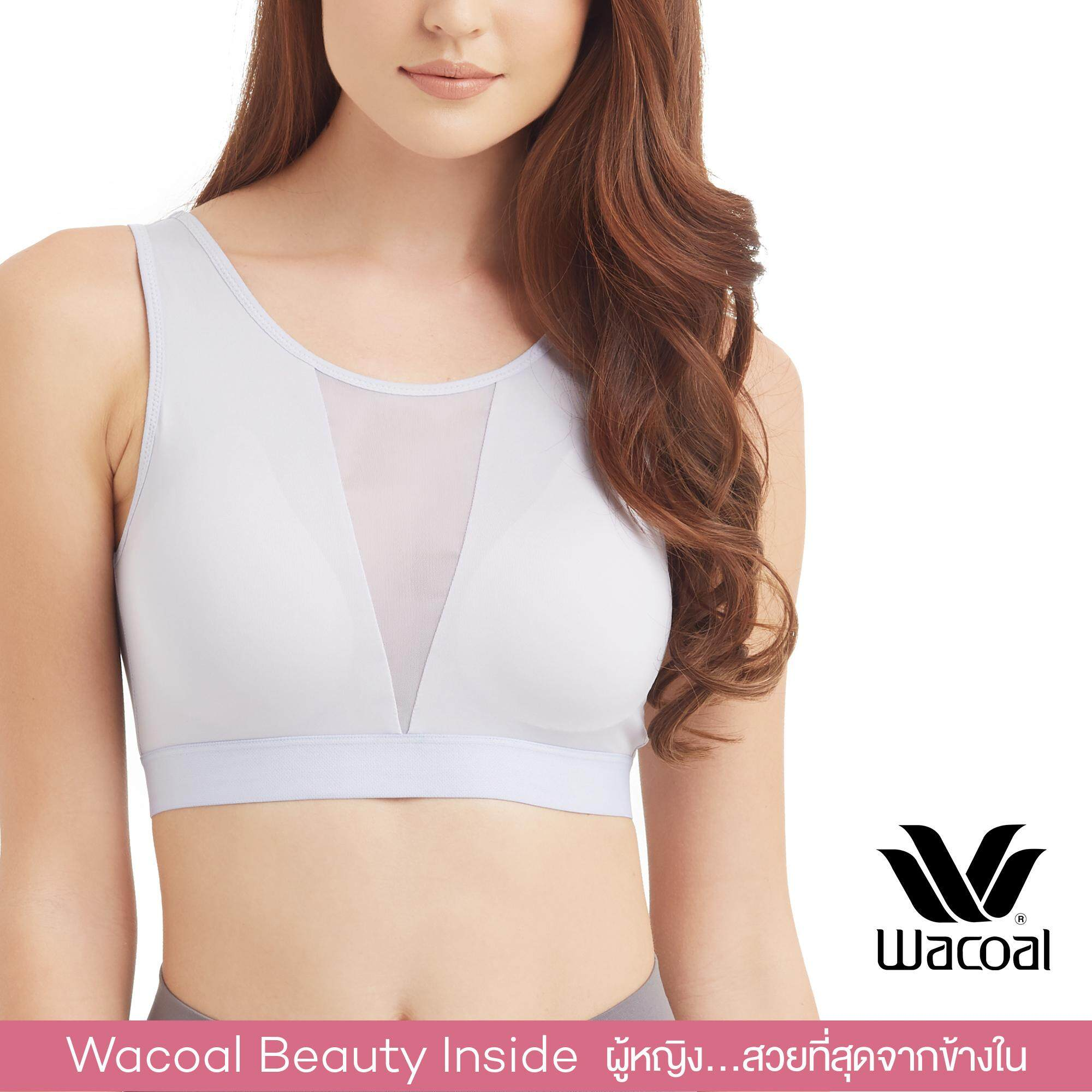 Wacoal Lingerie Casual bra (Wireless support) บราสวมหัว - WH9D21