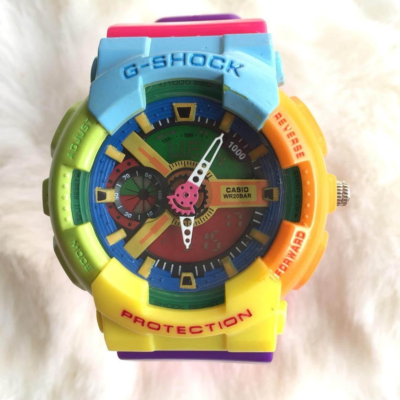 ขาย นาฬิกาแฟชั่น G Shock 2ระบบ ถูก