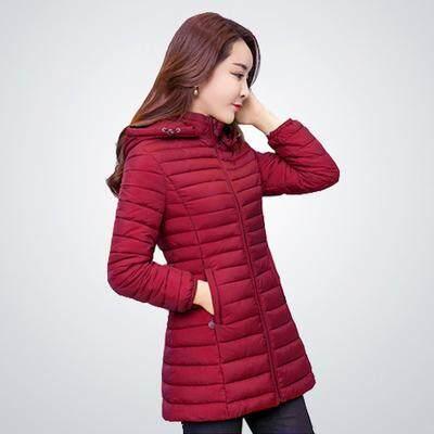 เสื้อผ้าฝ้ายสไตล์เกาหลีเสื้อผ้าผ้าฝ้ายผ้าขนนกหญิงสลิม.