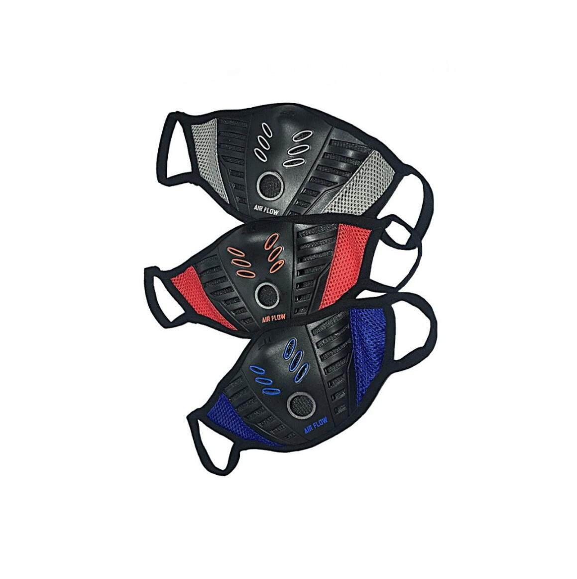 M1 หน้ากากผ้าปิดจมูกกรองฝุ่น รุ่น K5 Airflow By Gloves Headsupport Mask.