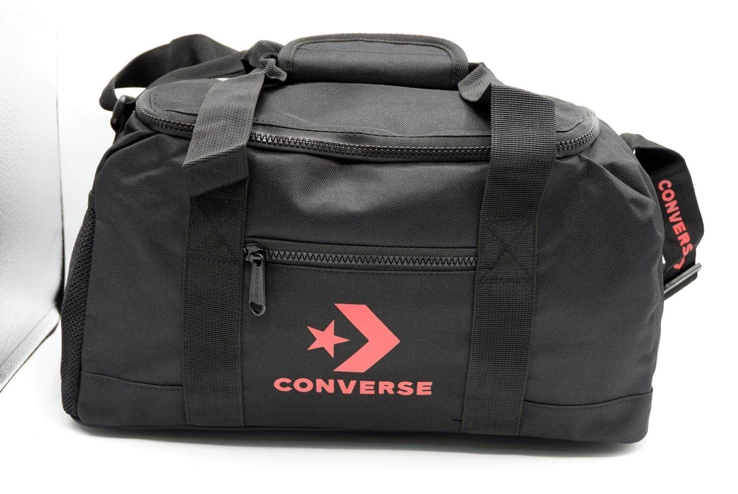 71f4673b65 CONVERSE กระเป๋าสะพาย รุ่น NEW SPEED DUFFLE BAG BLACK - 126001390BK-F  (BLACK)