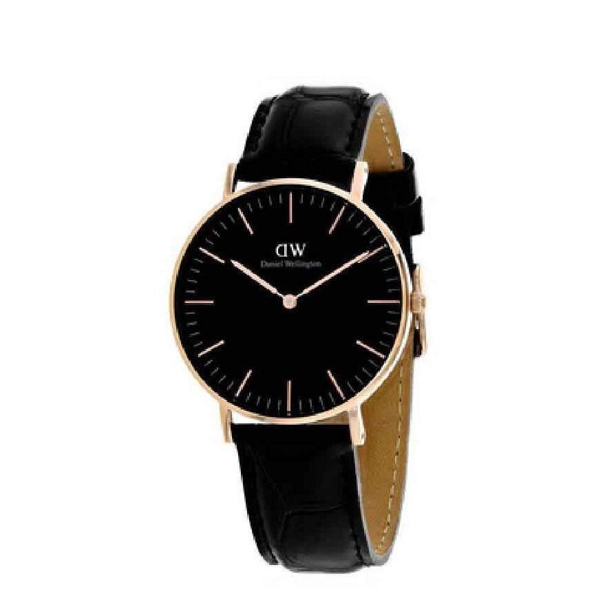 ซื้อ Daniel Wellington Dw00100141 Classic Black Reading Horloge 36Mm นาฬิกาข้อมือ แฟชั่น ผู้หญิง สีดำ Women Watch Black ถูก ใน สมุทรปราการ