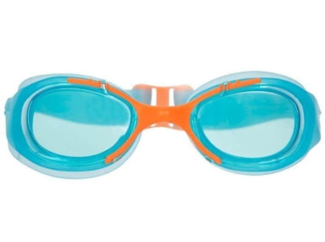 Nabaiji แว่นตาว่ายน้ำ แว่นว่ายน้ำเด็ก Xbase Junior (สีฟ้า/ส้ม).