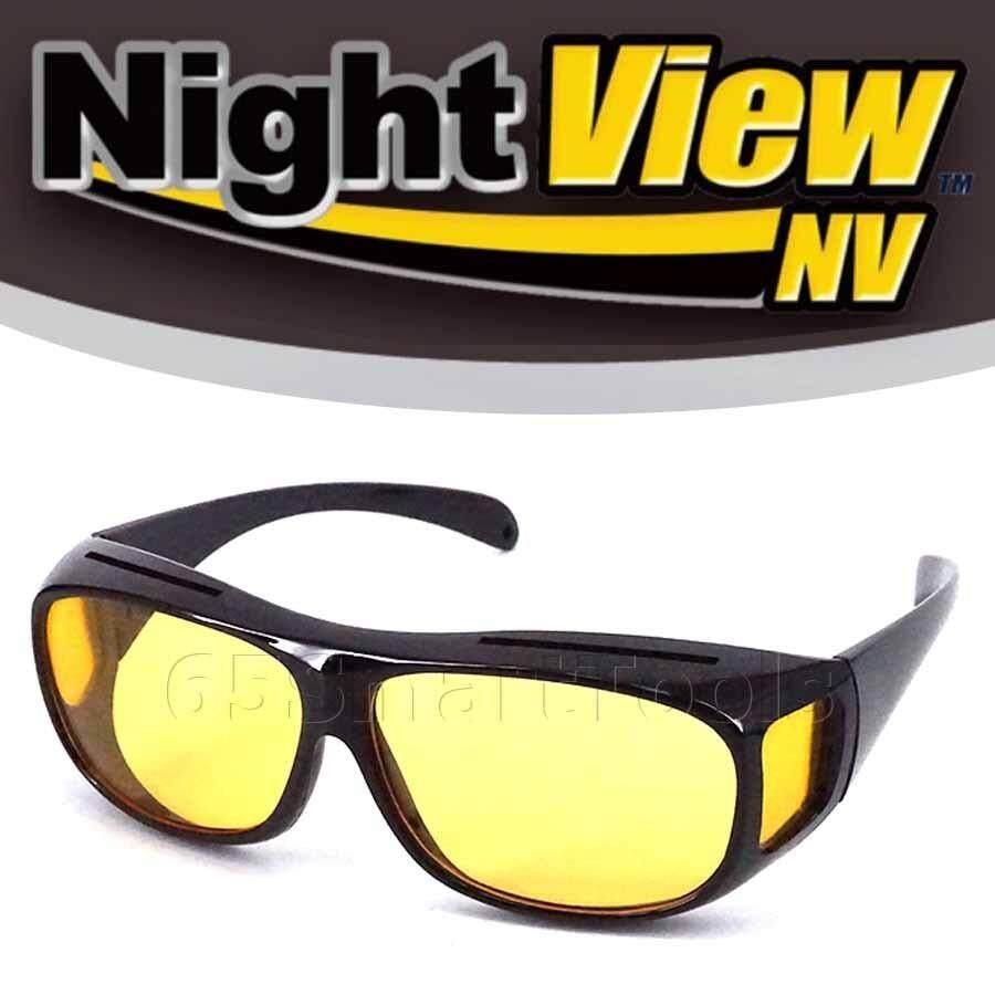 65smarttools แว่นตาขับรถกลางคืน แว่นตาตัดหมอก Night View รุ่น Nv6 แบบ Wrap Around ใหม่ล่าสุดจาก Usa.