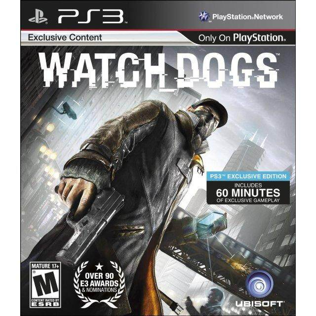 PS3 WATCH DOGS (US)