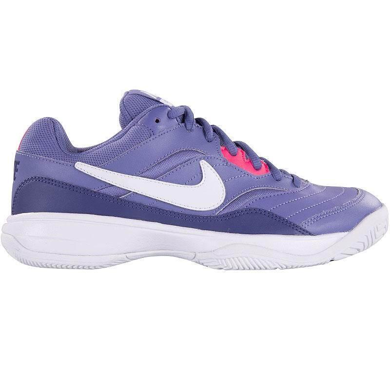 สุดยอดสินค้า!! Nike รองเท้า ผ้าใบ ผู้หญิง ออกกำลังกาย ไนกี้ Court Lite Purple นุ่ม เบา สบายเท้า ของแท้ 100% การันตี ส่งไวด้วย kerry!!!