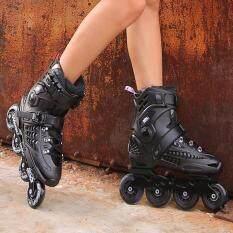 Skates รองเท้าอินไลน์สเก็ต ผู้ใหญ่ สวย แข็งแรงทนทาน ความปลอดภัย ใส่ได้ทั้งสองเพศ SIZE: S(38-39) M(40-41) L(42-44)