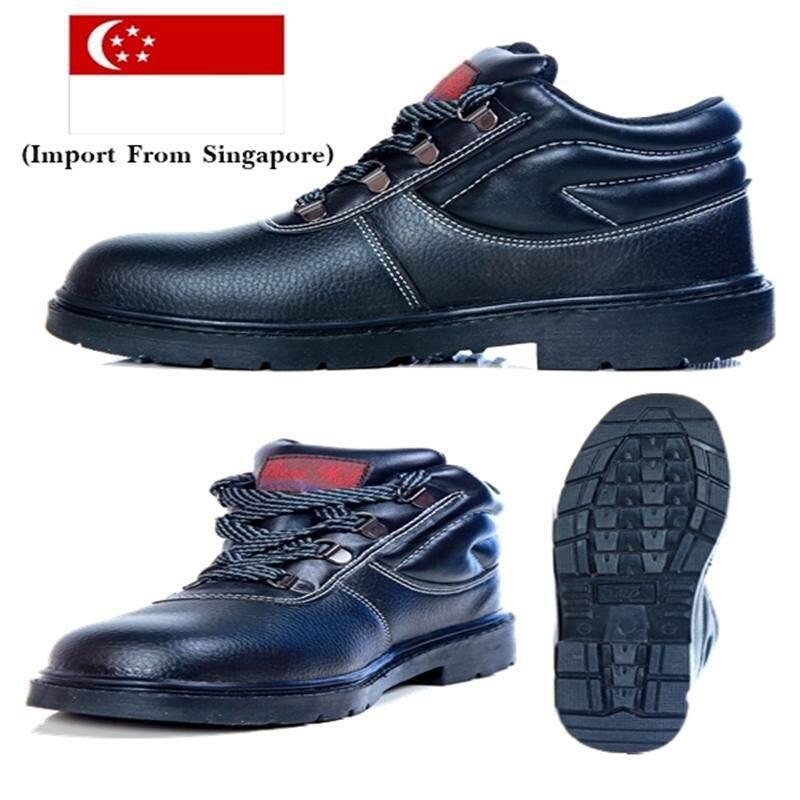 รองเท้าเซฟตี้หัวเหล็กเสริมเหล็กหุ้มข้อ รุ่น Thunder Plus จากสิงค์โปร์