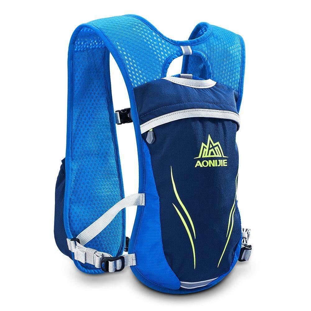 Dsstyles 2l กระเป๋าสะพายหลังวิ่ง Mochilas Trail Marathoner การแข่งขันวิ่งเสื้อกั๊กป้องกันการขาดน้ำกระเป๋าเก็บความชุ่มชื้นกระเป๋าเป้สะพายหลังสีฟ้า By Dsstyles.