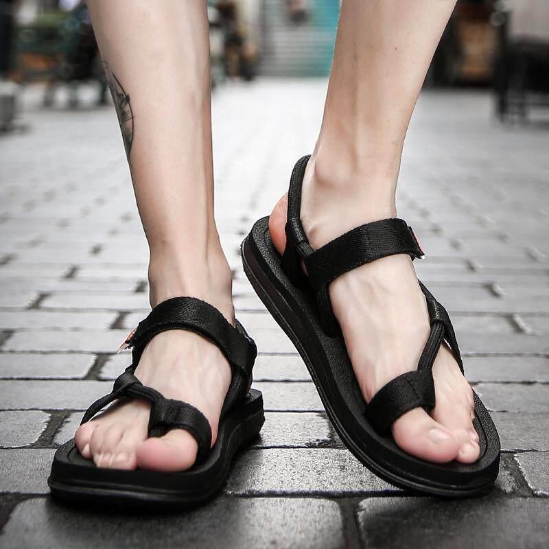 ฤดูร้อนผู้ชายคนใหม่ของรองเท้า, รองเท้าแตะชายหาดลื่นน้ำหนักเบาระบายอากาศ (ขนาด 36-45) By Kira Store.