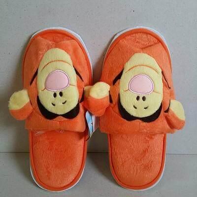 สุดยอดสินค้า!! ส่งฟรี Kerry!!! ขาย รองเท้าอยู่บ้าน รองเท้าใส่ในบ้าน รองเท้าสลิปเปอร์ slipper ทิกเกอร์ Tiger