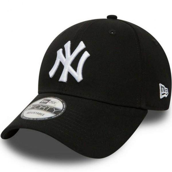 New Era 9FORTY 10531941 The League Basic New York Yankees Adjustable (Black) 64fb6c7bff