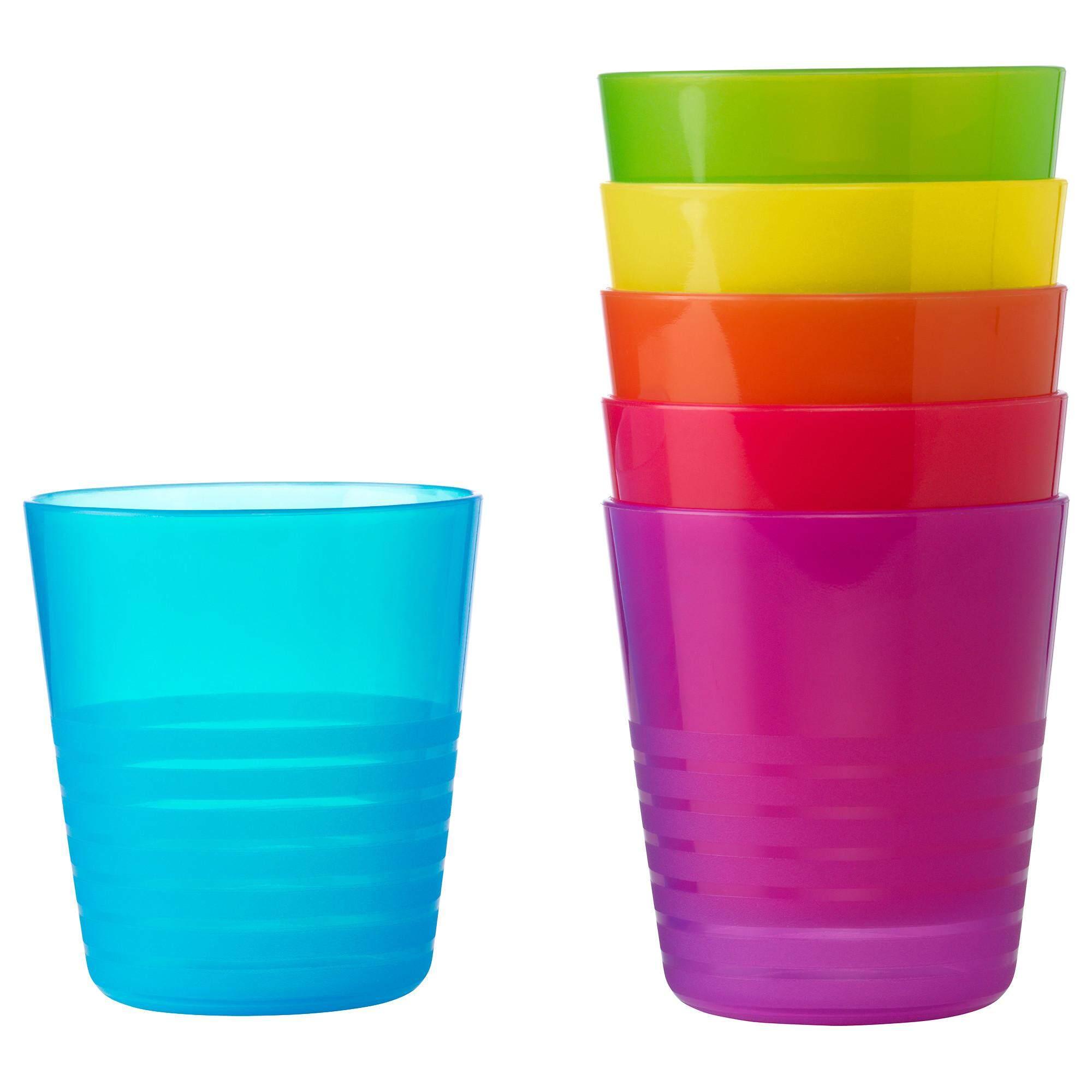 Mama แก้วมัค 6 ชิ้น เซ็ทสีพาสเทล/เซ็ทสีเข้ม นำเข้าไมโครเวฟได้ /คละสี.