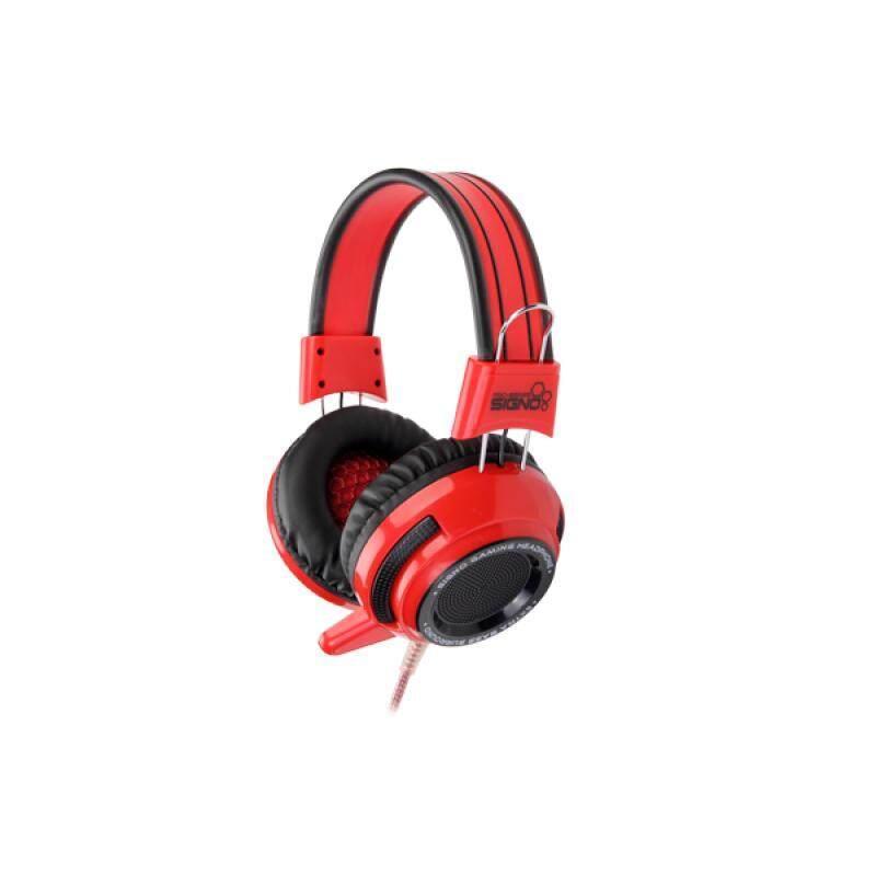 ขายดีมาก! [Wevery] หูฟังเกมส์ ซิกโน HP-รุ่น 803สีแดง headphone gaming หูฟังเกมมิ่ง หูฟังครอบหู หูฟังสำหรับคอม หูฟังแบบครอบ ส่ง Kerry เก็บปลายทางได้