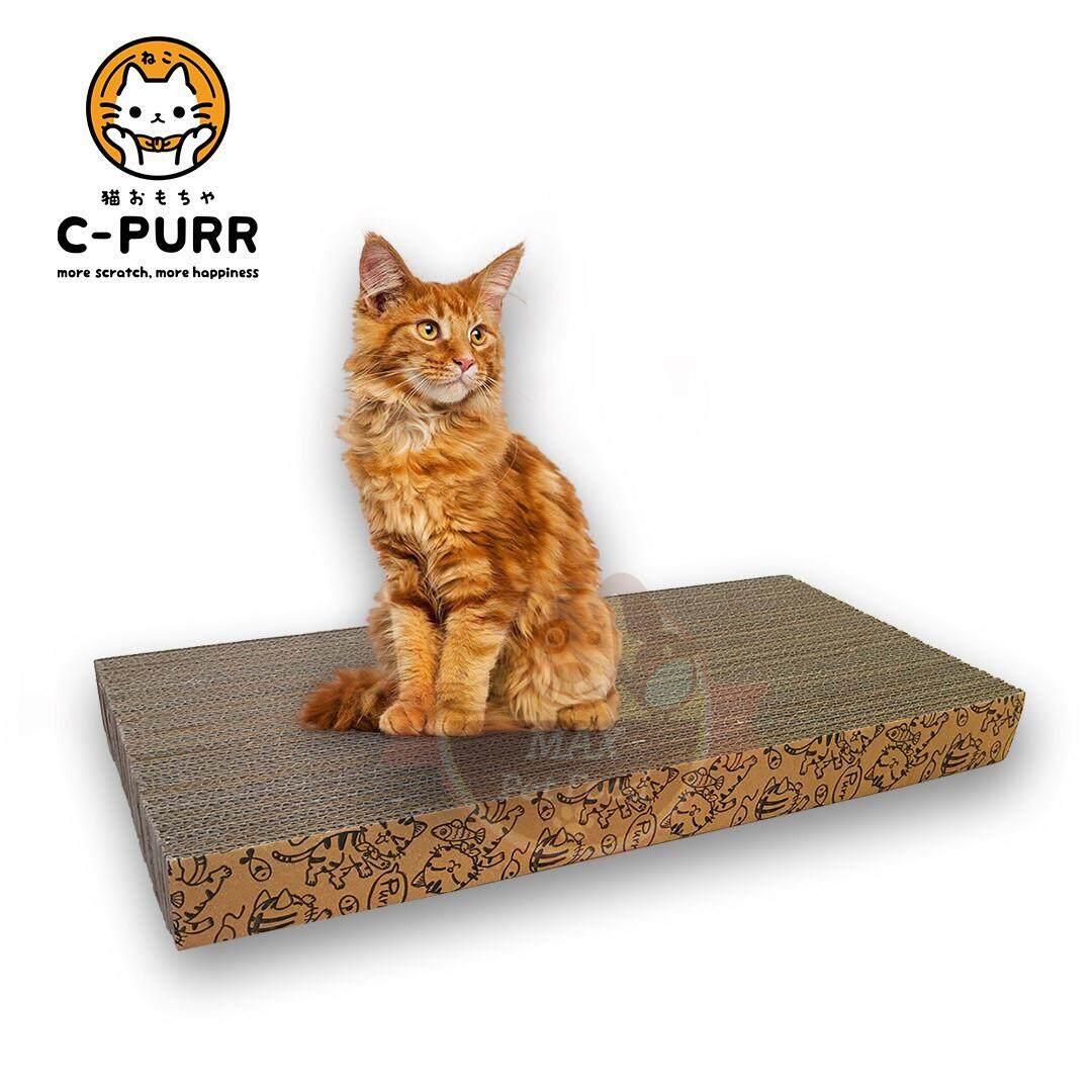 C-PURR ที่ลับเล็บแมว ของเล่นแมว แบบกระดาน 20*45*4Cm. 1 ชิ้น