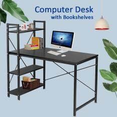 โต๊ะทำงานโมเดิร์น (รุ่นH 115cm) โต๊ะวางคอมพิวเตอร์ โต๊ะสำนักงาน โต๊ะเขียนหนังสือ โต๊ะวางโน๊ตบุ๊ค แท่นวางโน๊ตบุ๊ค