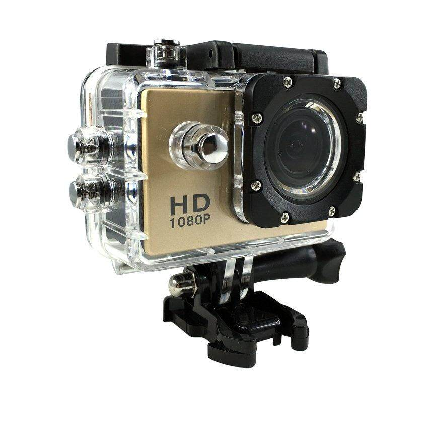 JA Sport Action Camera กล้องกันน้ำ 2.0 HD DV 1080p Sports Camera No Wifi