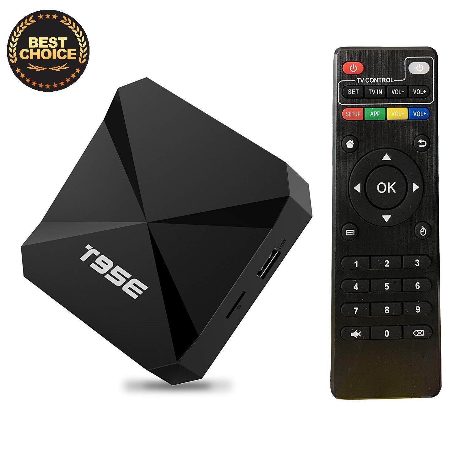 สอนใช้งาน  สกลนคร T95E 4K Media Player TV Box with Remote Control  Android 5.1  RK3229 Quad Core 2.0GHz  RAM: 1GB  ROM: 8GB  Support WiFi  3D  KD Playe