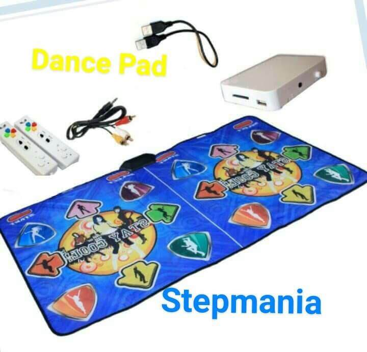 Stepmania Coilmix แผ่นเกมส์เต้นแบบเต้นคู่ ระบบไร้สาย พร้อมจอยคู่ไร้สาย ต่อtvเล่นได้ ภาพคมชัด เมนูภาษาอังกฤษ By Bobber Shop