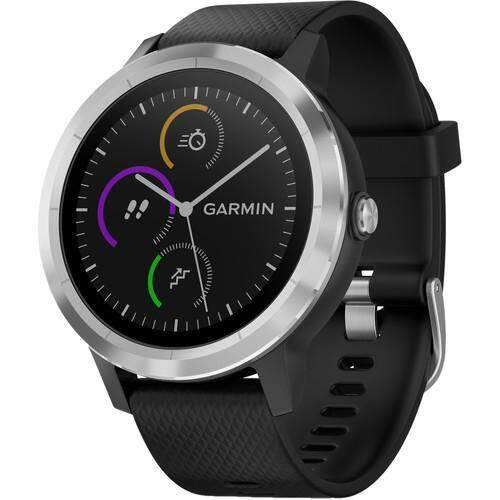 การใช้งาน  ภูเก็ต Garmin vivoactive 3 - [Black with Stainless Hardware]