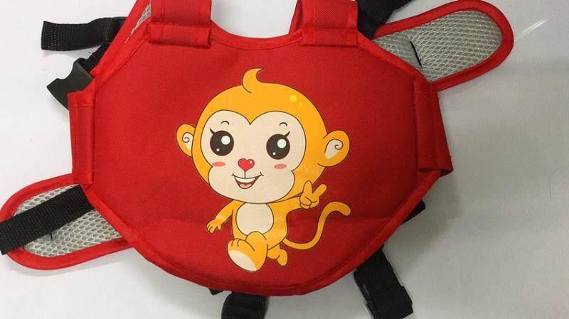 superbaby  สายรัดนิรภัยกันเด็กตกรถมอเตอร์ไซต์ สำหรับเด็กอายุ 3 - 10 ปี แบบกระเป๋าเป้สะพายหลัง สำหรับขับขี่มอเตอร์ไซต์