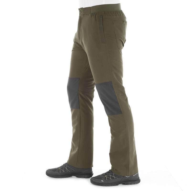 กางเกงเดินป่าขายาวสำหรับผู้ชายรุ่น Arpenaz 50 (สีกากี).