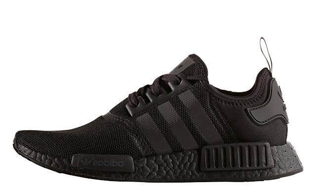 ยี่ห้อไหนดี  นราธิวาส รองเท้าผู้หญิง Adidas NMD Triple Black ดำล้วน ลิมิตเต็ด