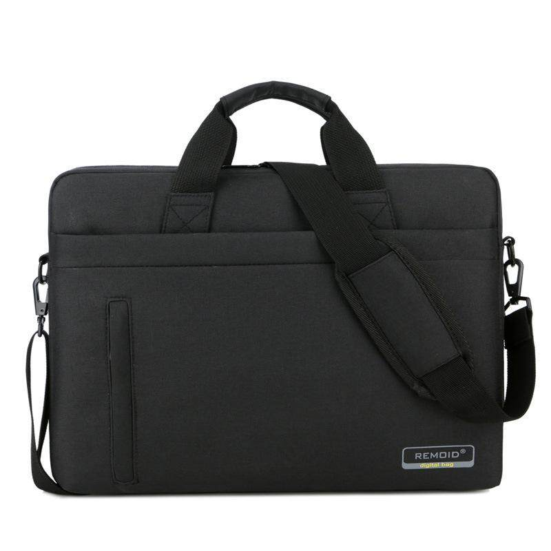 กระเป๋าโน๊ตบุ๊ค กระเป๋าใส่แล็ปท็อป Notebook  Macbook 17.3  นิ้ว พร้อมสายสะพาย รุ่น Remoid.