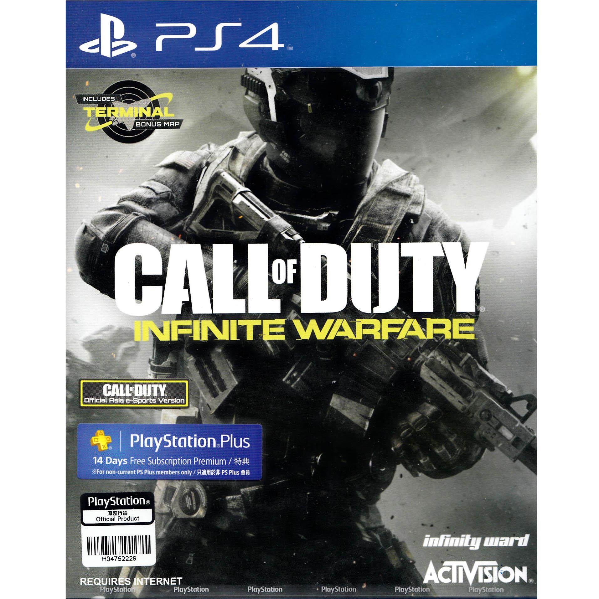 PS4 CALL OF DUTY: INFINITE WARFARE (CHINESE SUBS) (ASIA)