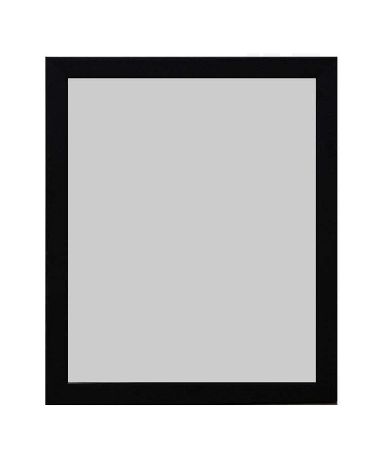 Damon Houses กระจกเงา ติดผนัง สำหรับแต่งหน้า รุ่น Dh-Wm-01 ขนาดเล็ก 12 X 10 นิ้ว สีดำ - มีที่แขวนข้างหลัง สไตล์ โมเดิร์น By Damon Houses.