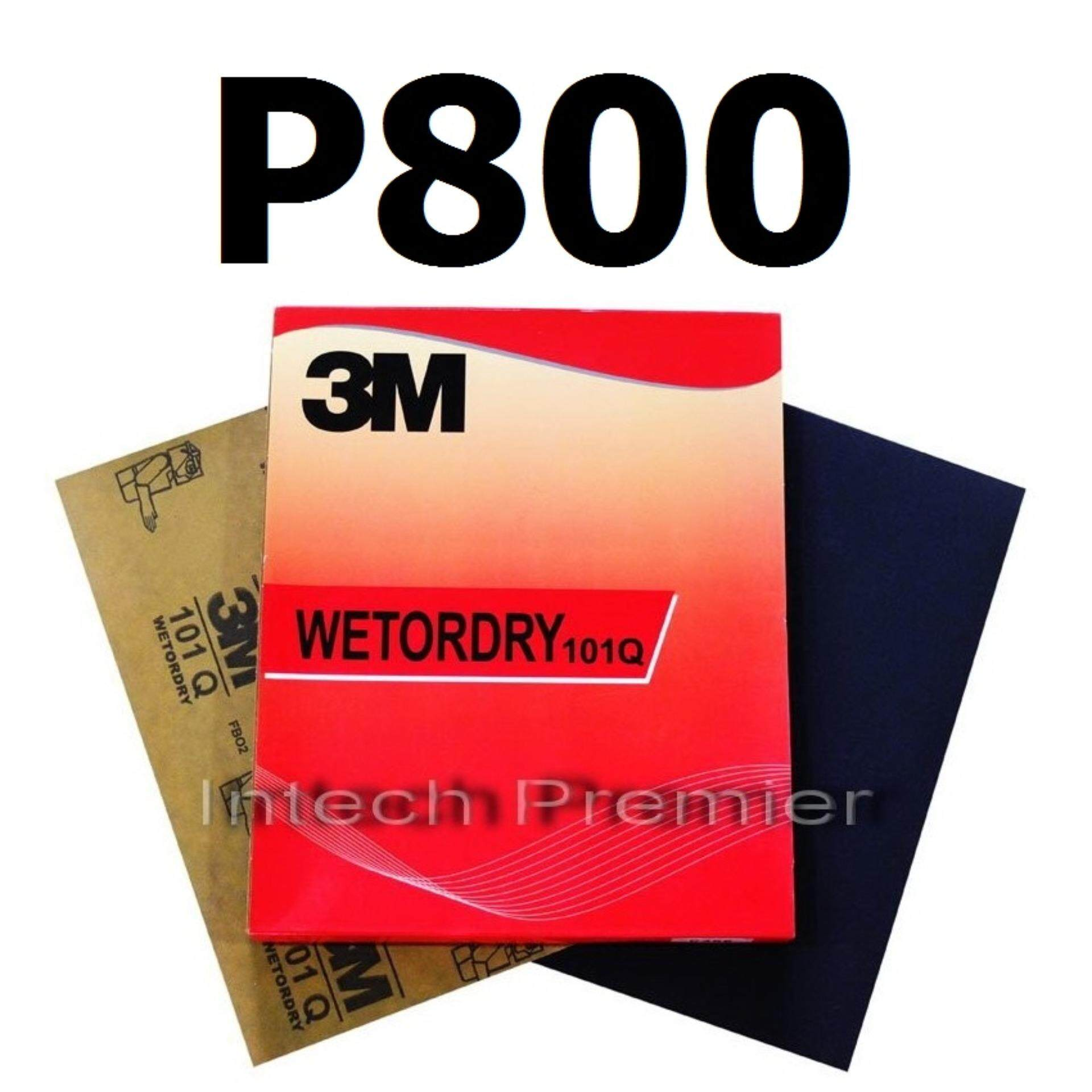 ราคา กระดาษทรายน้ำ 9 X11 เบอร์ 800 100 แผ่น 3M 101Q 3M Wetordry Sandpaper ที่สุด