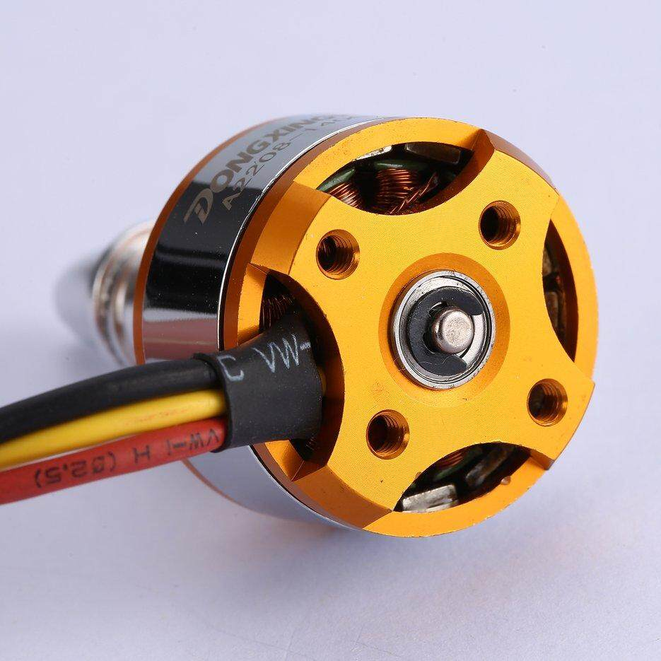 Hot Sellers DXW A2208 1400KV 2-4S Outrunner Brushless Motor for RC Fixed  Wing Airplane