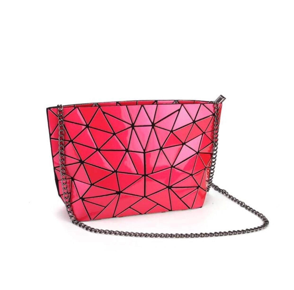 กระเป๋าเป้สะพายหลัง นักเรียน ผู้หญิง วัยรุ่น แพร่ Zigzagg กระเป๋าสะพาย BB สายโซ่ กระเป๋าแฟชั่น กระเป๋าผู้หญิง