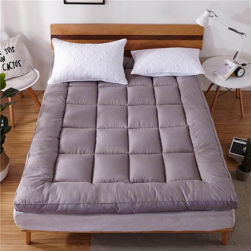 Super Premium Soft Topper ขนห่านเทียม 3.5ฟุต/5ฟุต/6ฟุต Topper เบาะรองนอน ผ้ารองกันเปื้อน ผ้ากันเปื้อน ปลอกที่นอน By Loki.