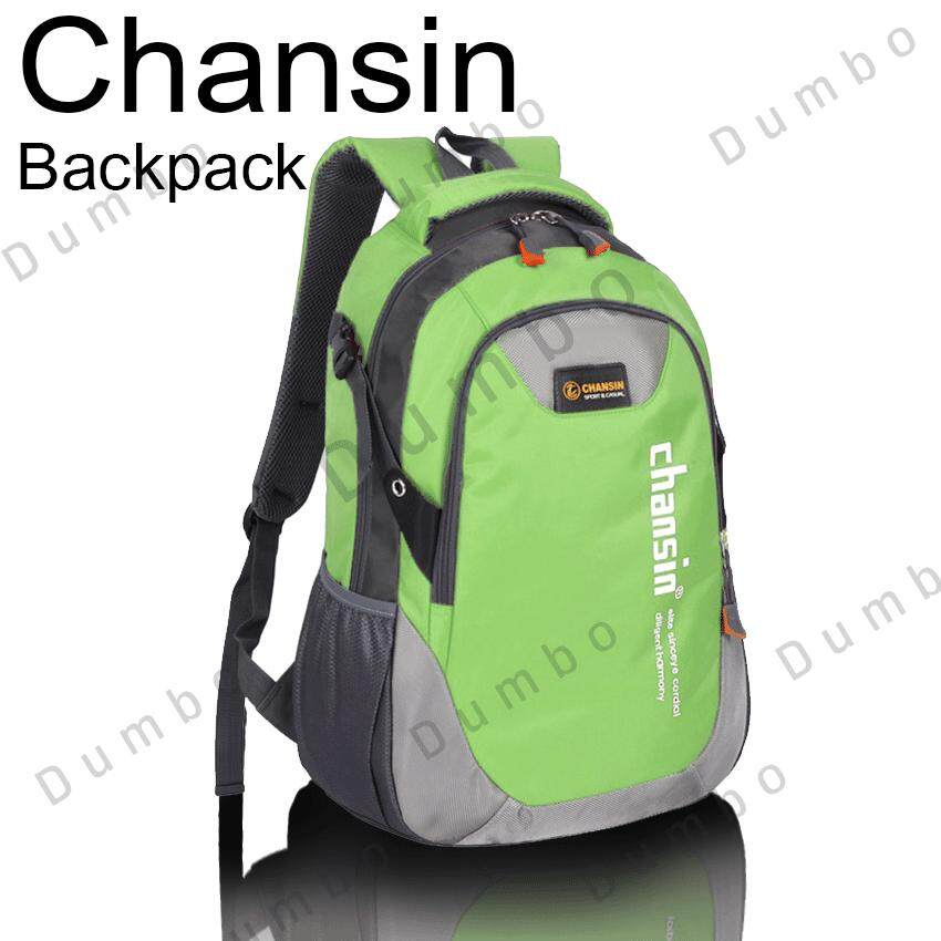 7640325035 Chansin Backpack กระเป๋า กระเป๋าเป้ สะพายหลัง Laptop Bag รองรับน้ำหนักได้เยอะ  จุของได้