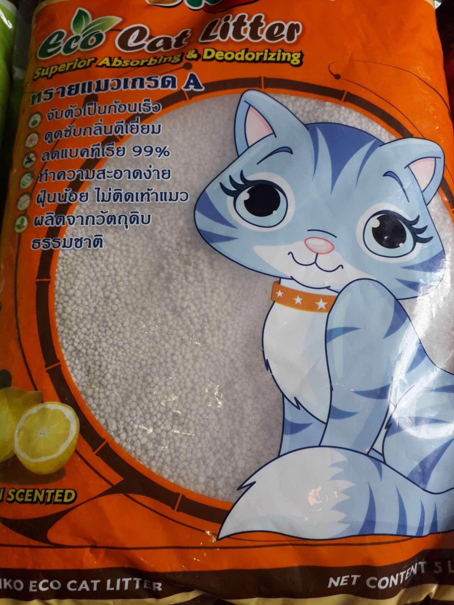 ทรายแมว อนามัย ราคาส่ง ยกกระสอบ×3 By 19 Pet Shop.