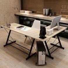 โต๊ะคอมพิวเตอร์ โต๊ะทำงานเข้ามุม โต๊ะทำงาน Computer โน๊ตบุ๊ค โต๊ะเข้ามุม L-shape โต๊ะอ่านหนังสือ
