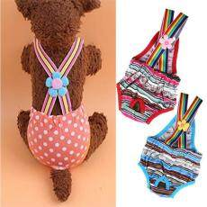 Dog Puppy Sanitary Strap Underwear Pants Female Physiological Shorts Diapers (L) - intl