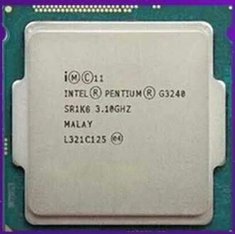 การส่งเสริม Intel Pentium Processor G3240 LGA1150 Dual-Core
