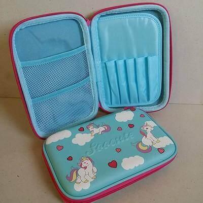 ขายดีมาก! ส่งฟรี Kerry!!! ขาย กล่องดินสอสมิกเกิ้ล EVA กระเป๋าดินสอ กล่องดินสอ smiggle hardtop pencil case 3d 3ดี Unicorn ยูนิคอร์น