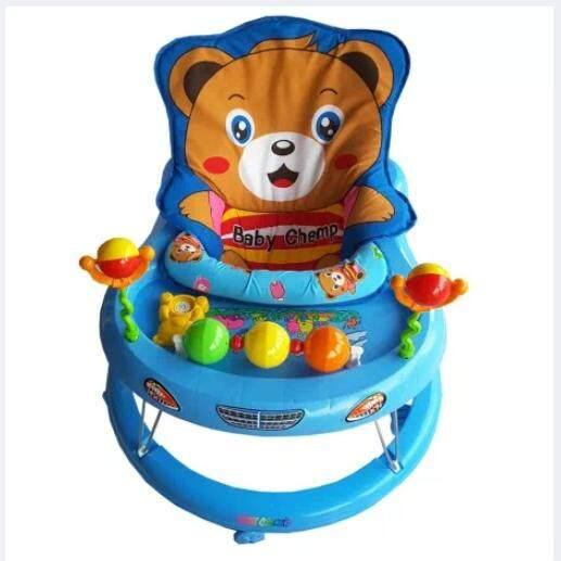 รถหัดเดินหมี  มีของเล่น  มีดนตรี