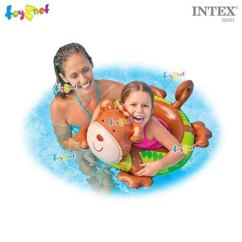ซื้อ Intex ห่วงยาง เป่าลม รูปสัตว์ ลิง รุ่น 58221 Intex
