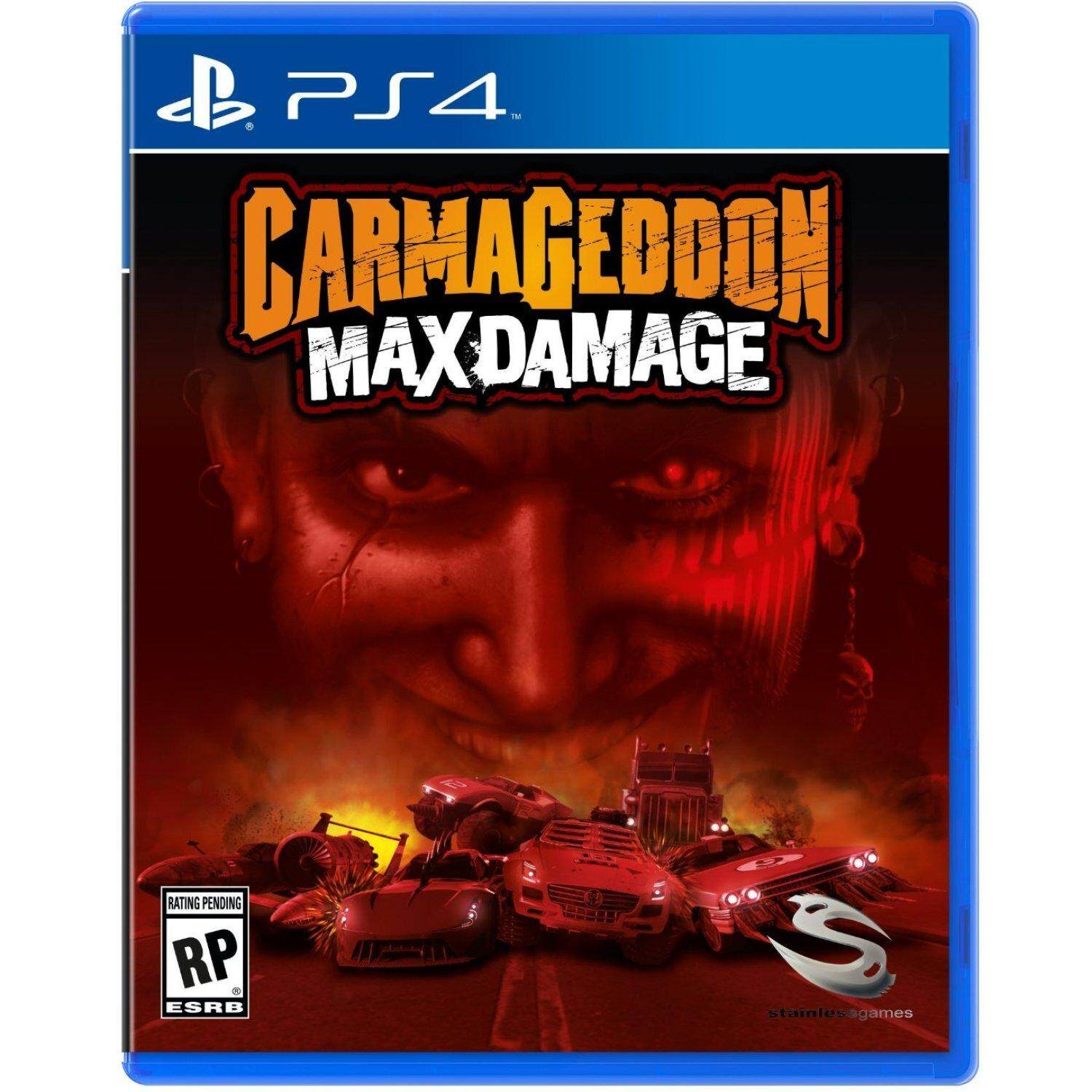 PS4 CARMAGEDDON: MAX DAMAGE (US)